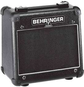 Ibanez electric guitar and Behringer amplifier
