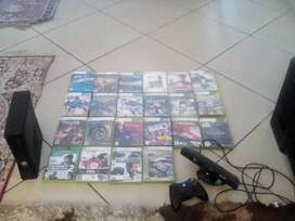 XBOX 360 + Kinect + Wireless controller + Games all for R2800
