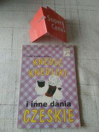 """książka """"knedle knedliki i inne dania Czeskie"""" Zofia Waszczukowa"""