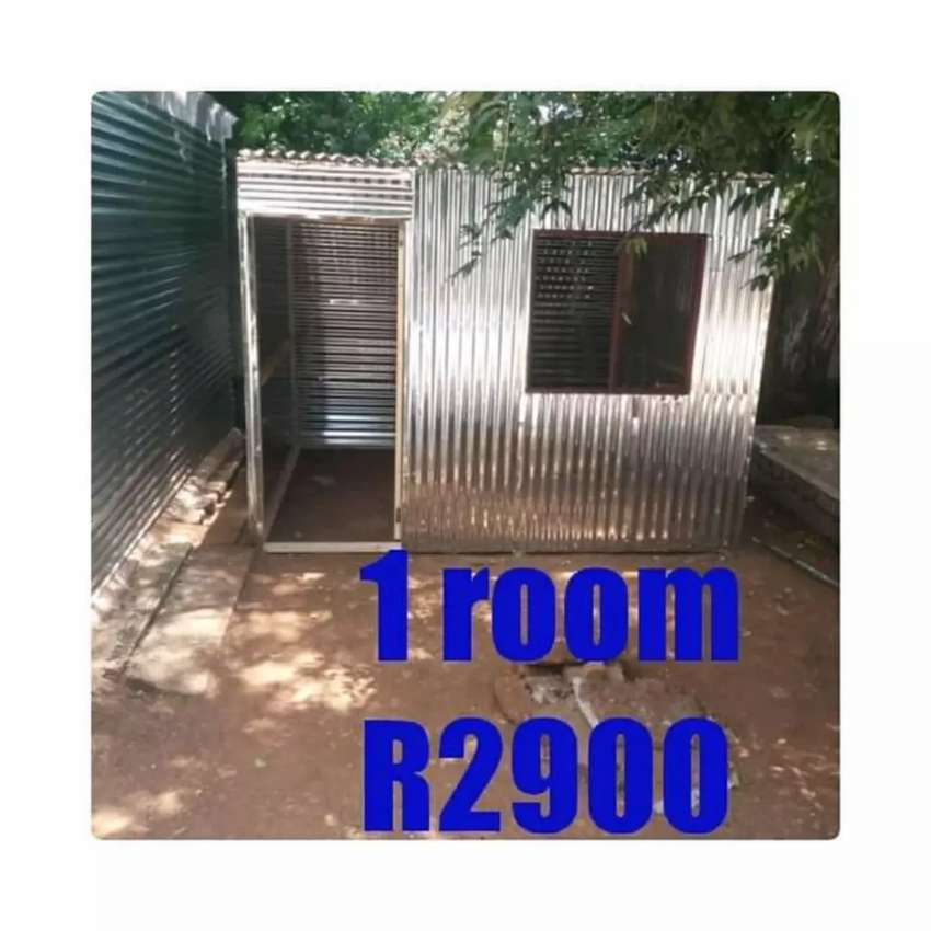 New zozo shack made by wood and zinc cash on delivery no deposit