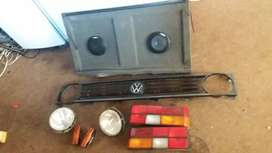 VW Golf headlights. Tail lights.grill.indicators back cover for sale