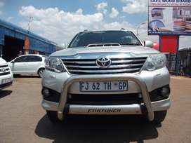 2012 Toyota Fortuner 3.0 D-4D 4x4