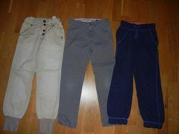 Spodnie dla dziewczynki roz 128 cm