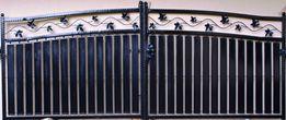 Brama dwuskrzydłowa wzór nr 1