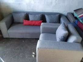 Brand new L shape couches of excellent quality.