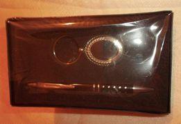 Набор подарочный: ручка + зеркало-брелок из Германии женский новый