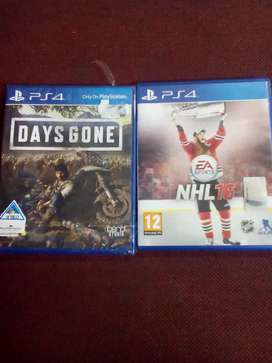 Ps4 days gone +freeNHl16