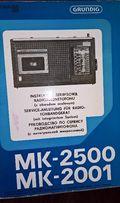 Instrukcje Serwisowe Unitra, MK-2500,MK-250
