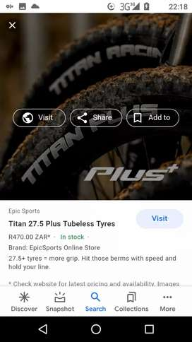 2New bicycle tyre+tubes for sale