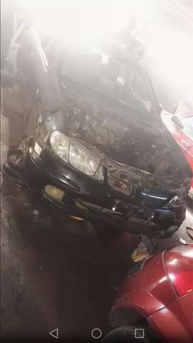 Stripping nissan almera gq18 for spares and accessories