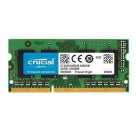 Memory upgrade for Apple devices