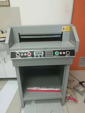 """Industrial Electrical Guillotine """"Paper Cutter 450VS+"""""""