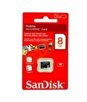 Карта памяти micro SD Объем 8GB