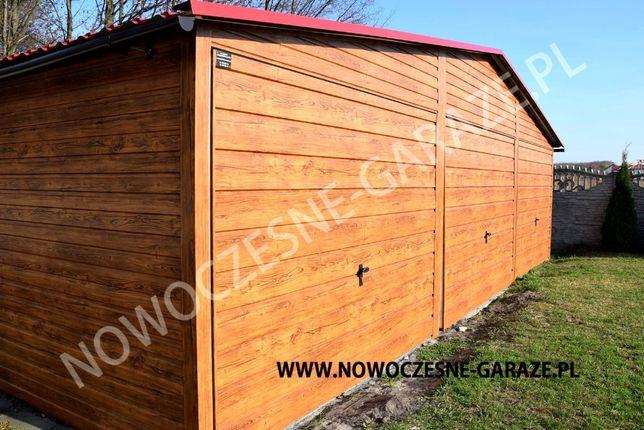 Garaż blaszany drewnopodobny imitacja drewna nowość Wrocław - image 3