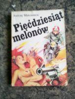 książka pięćdziesiąt melonów a. makowiecki