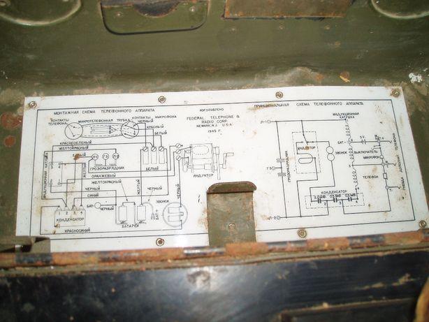 Коммутатор телефонный американский 1945 г