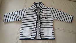 Marynarka dla niemowląt w paski stan idealny rozm.80