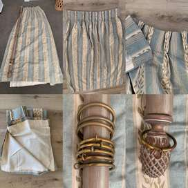 2nd Hand Curtains | Good Quality |  3-4 sets
