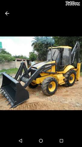 Volvo TLB used  machine in good condition