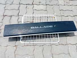 88-91 Honda ballade SH4 Garnish Assembly REAR PANEL (black)