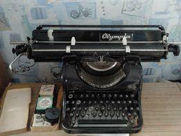 Печатная машинка Olympia MOD 8 с разворотной кареткой. Германия.
