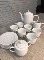 Serwis kawowy NOWY - porcelana Włocławek