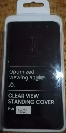 Clear view standing cover P8lite 2017