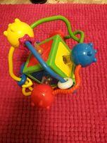 Куб логический, погремушка для малышей