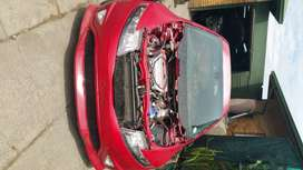 Honda civic type r 2008 bonnet and light