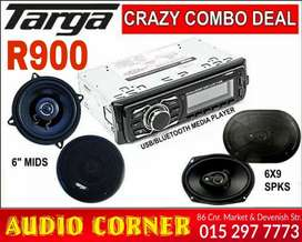 Targa Sound Media player and Speakers