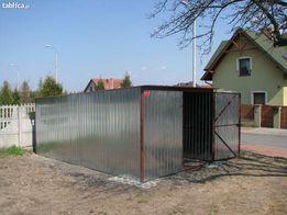 Garaże Blaszaki 3x5 1gat z transportem i montażem
