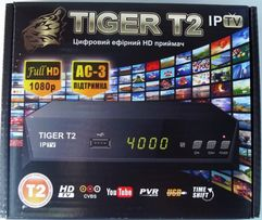 Ресивер TIGER T2 Новая модель. 2USB, Youtube, Stalker, IPTV. Магазин.