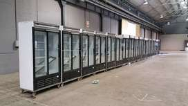 Display fridges, double door fridges, upright fridges for hire