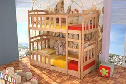 Łóżko Dla 2 Dzieci Mati ! Pojemnik na Pościel i Materace w Zestawie !