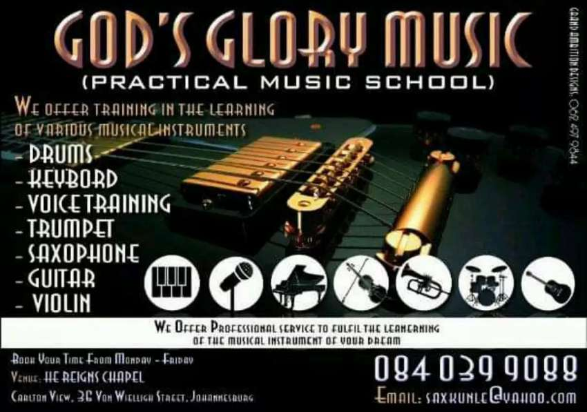 God's Glory music school